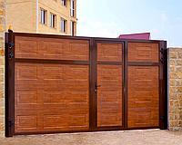 Ворота распашные Алютех ADS400 2,8м*2м, фото 1