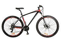 "Велосипед 29"" Leon TN-90 AM 14G DD рама-21"" Al серо-черный (м) 2017"