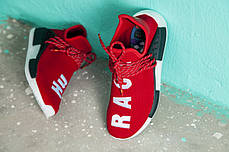 Женские кроссовки Pharrell Williams x Adidas NMD Human Race Red BB0616, Адидас НМД, фото 2