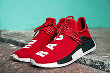 Женские кроссовки Pharrell Williams x Adidas NMD Human Race Red BB0616, Адидас НМД, фото 3