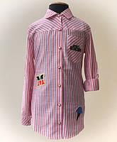 Рубашки и блузки для девочек, их виды и ткани.