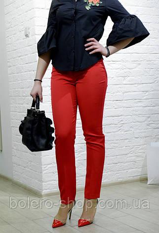 Женские брюки коралловые брендовые Италия, фото 2