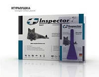 ИНСПЕКТОР (Inspector Total K) капли на холку для кошек 4-8 кг (1 пипетка)