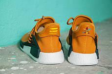 Мужские кроссовки Pharrell Williams x Adidas NMD Human Race Orange, фото 2