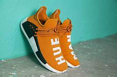 Мужские кроссовки Pharrell Williams x Adidas NMD Human Race Orange, фото 3