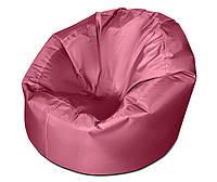 Розовое большое кресло мешок из ткани Оксфорд