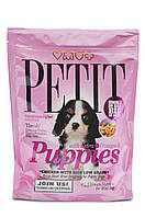 Petit Puppies Chicken & Rice Extra Omega корм для щенков, курица с рисом, 300 г