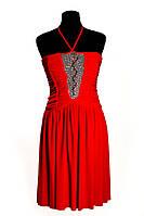 Платье   Зигзаг (красное)