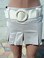 Юбка-шорты женские атласные