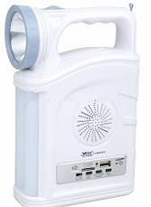 Фонарь переносной YAJIA YJ-2885 SY 1W+22SMD USB радио мощный аккумуляторный, фото 3