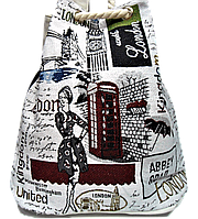 Женский пляжный рюкзак Лондон UUU-000024, фото 1