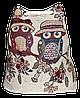 Женский пляжный рюкзак Сова UUU-000026
