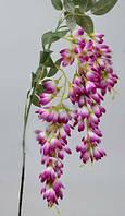 Вистерия Колокольчикоподобная свисающая фиолетовая 90 см Цветы искусственные