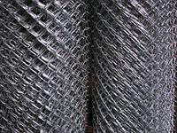 Сетка рабица  металлическая черная 1,5*50