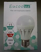 Светодиодная LED лампа EucooLed 15W  6500К  Е27