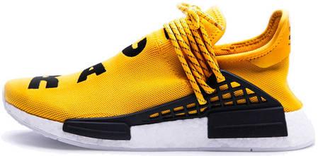 7af7f2c24ddbc2 Мужские кроссовки Pharrell Williams x Adidas NMD Human Race Yellow, фото 2
