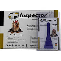 ИНСПЕКТОР (Inspector Total C) капли на холку для собак до 4 кг