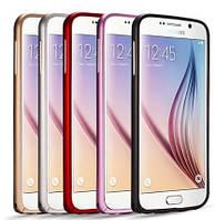 Алюминиевый чехол бампер для Samsung Galaxy S6