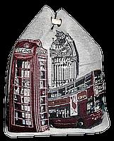 Женский пляжный рюкзак синего цвета Лондон UUU-000028, фото 1