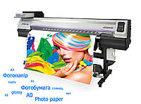 Широкоформатная печать на фотобумаге