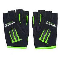 Вело-мото перчатки MONSTER Energy MS-4638-BG. Суперцена!