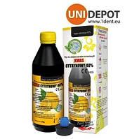 Лимонная кислота CITRIC ACID 40% 200 мл
