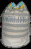 Женский пляжный рюкзак серая полоска мешок UUU-000029
