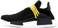 Женские кроссовки Pharrell Williams x Adidas NMD Human Race Black