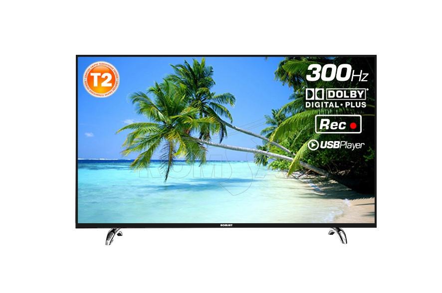 """Телевизор 55"""" T2 FullHD 1920×1080 USB HDMI Romsat 55F270T2"""