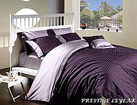 Комплект постельного белья First Choice VIP сатин евро, 2041_prestige_leylak First Choice