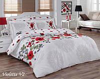 Комплект постельного белья Mariposa Satin Deluxe евро, 2095_violette_v2 Mariposa