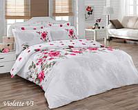 Комплект постельного белья Mariposa Satin Deluxe евро, 2095_violette_v3 Mariposa