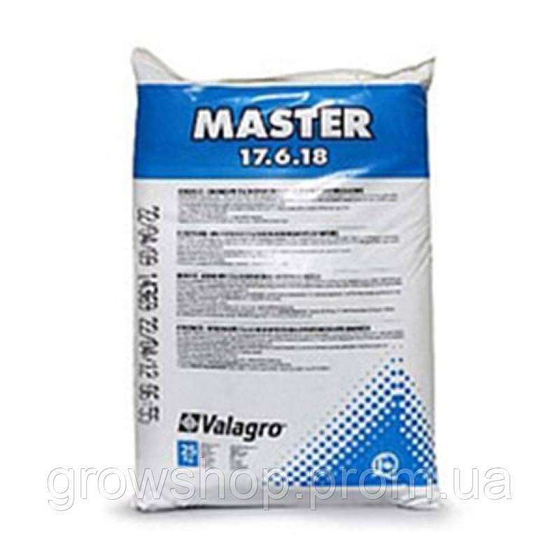 Минеральное удобрение Valagro Master 17.6.18 25кг