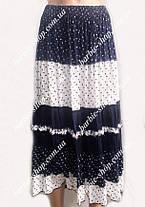 Летняя женская юбка макси 4595