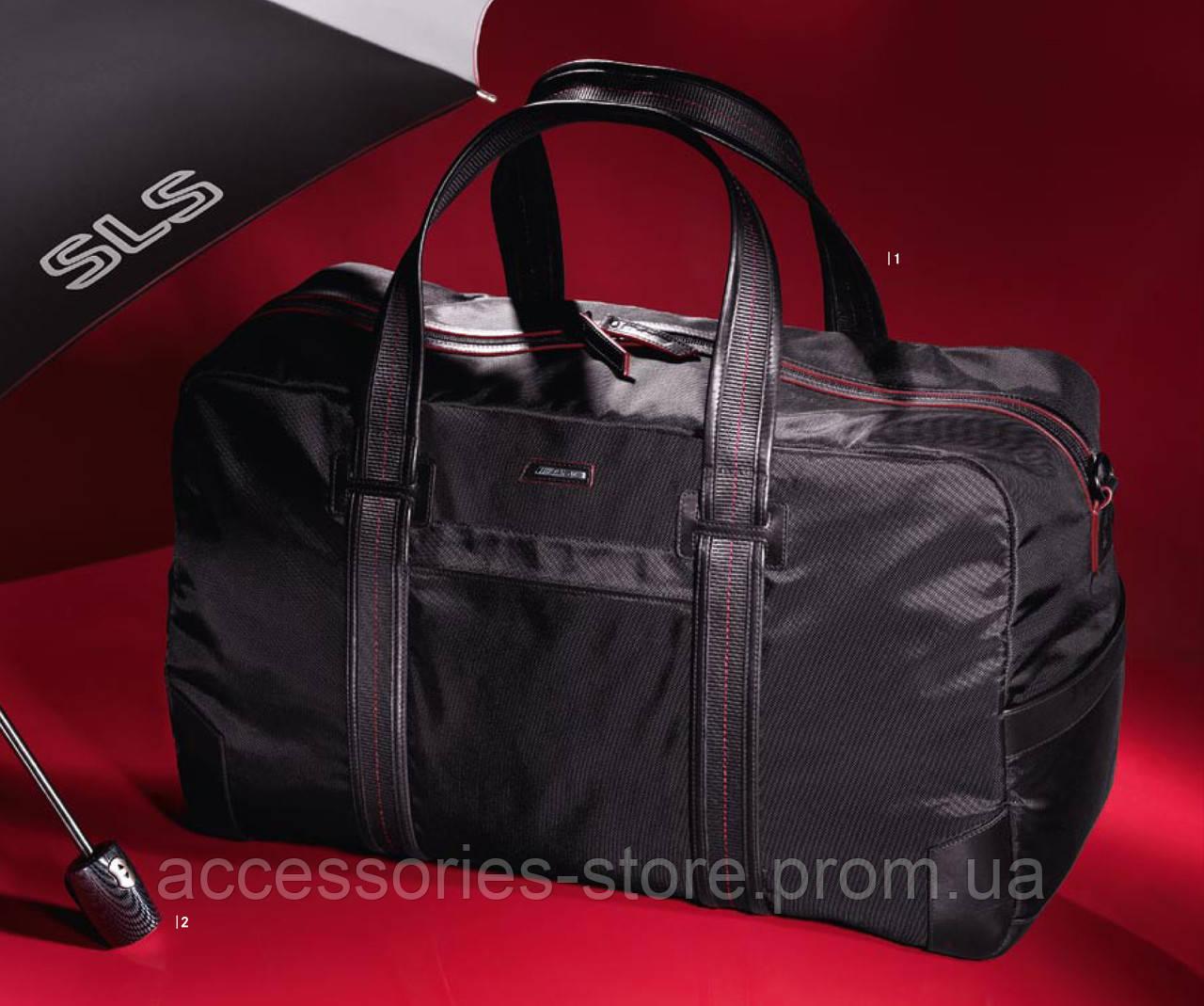 Складной зонт Mercedes-Benz SLS AMG Compact Umbrella Black