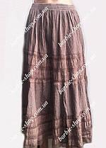 Оригинальная летняя женская юбка макси 4597