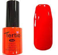 Гель лак Tertio 016 (10 мл) ярко-оранжевый