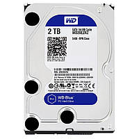 Жесткий диск 3.5 Western Digital Blue 2TB 5400rpm 64MB SATAIII (WD20EZRZ)