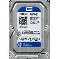 Жесткий диск 3.5 WD Caviar Blue 500GB SATA III (WD5000AZLX)