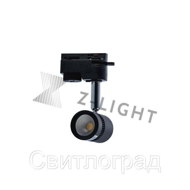 Светильник трековый светодиодный LED ZL 4000 5W LED черный