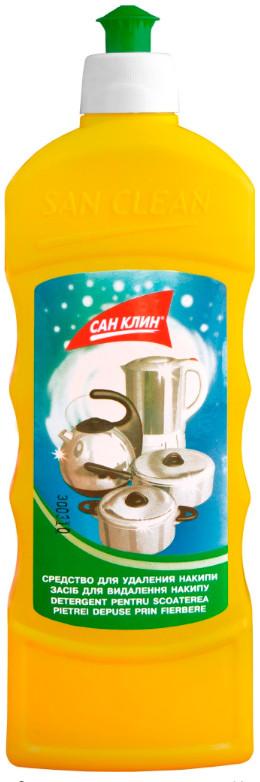 Средство от накипи с чайников и кастрюль Сан Клин (500 мл)