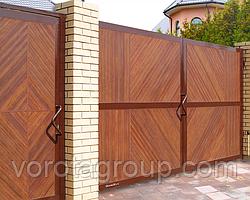 Розпашні ворота DoorHan 2 700 * 2 300 мм
