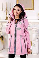 Куртка-ветровка женская демисезонная в 3х цветах В-1021 МФ