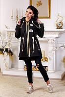 Куртка-ветровка женская демисезонная в 8ми цветах В-1021 МФ