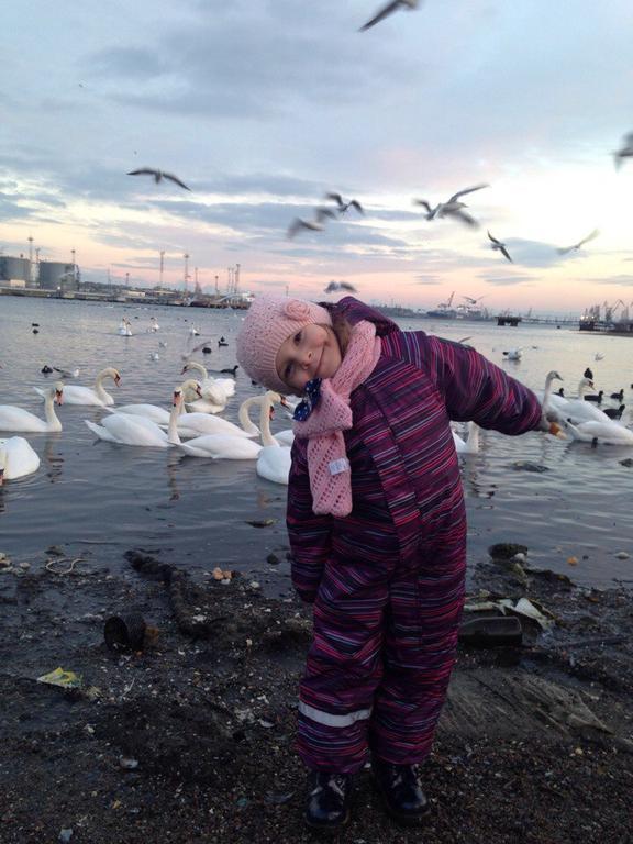 Зимний комбинезон Lassietec на принцессе из Черноморска)