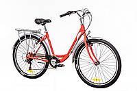 "Велосипед 26"" Optimabikes VISION 14G Vbr Al с багажн. красно-белый (м) 2016"