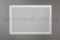"""Решетка (экран) для батарей """"Классик"""", цвет белый, из ХДФ и МДФ 68 см х 98 см х 1,8 см"""