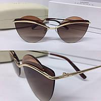 Солнцезащитные очки коричневые Marc Jacobs