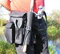 Тримач для вудилищ на пояс Stakan-7 ideaFisher 1001506 держатель для вудки, Тримач для вудилищ, сумка для вудилищ, пояс держатель для вудилища, тримач