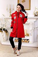 Куртка-ветровка женская демисезонная в 9ти цветах В-1028